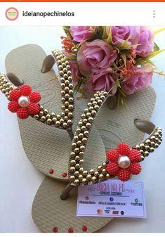 Flip Flop Sandals, Shoes Sandals, Cute Flip Flops, Decorating Flip Flops, Purse Game, All The Colors, Wedding Gifts, Slippers, Fancy