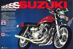 1977 Suzuki GS750…
