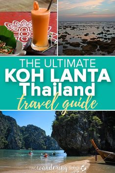 The Ultimate Koh Lanta Travel Guide: Everything you need to know before traveling to Koh Lanta. We'll show you amazing tours, responsible companies, and delicious cafes to try. Koh Lanta is the perfect island for someone who wants a peaceful beach destination while traveling on a budget. #Thailand #KohLanta #Lanta #backpacker #island