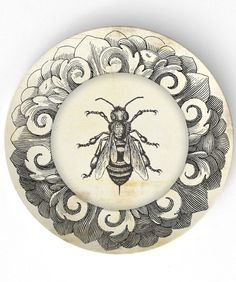 I love the frame on this, not a huge fan of the bee illustration, but definitely potential here