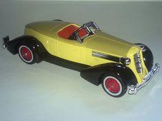 Lesney Matchbox Models of Yesteryear Y-19 1935 Auburn Speedster 851