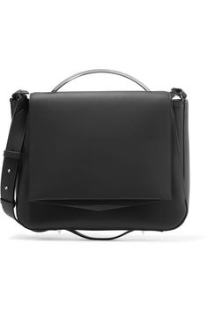 Pepper Saddle matte-leather shoulder bag | EDDIE BORGO | Sale up to 70% off | THE OUTNET