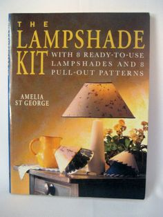 Lampshade Kit Book 8 DIY Lampshade 8 Pull Out Patterns Decoupage Stencil Pierced Punch Holes, Vintage https://www.etsy.com/listing/168412935/lampshade-kit-book-8-diy-lampshade-8?ref=shop_home_active