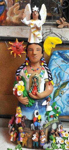 Nativity Scene Oaxaca by Teyacapan,