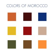 Love This Moroccan Inspired Color Palette