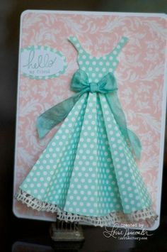 polka dot dress - bjl