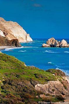 """Cyprus Pafos """"Petra tou Romiou - Rock of Aphrodite"""""""