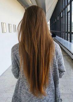 - ̗̀bat those lashes ̖́- Down Hairstyles, Pretty Hairstyles, Straight Hairstyles, Cut Her Hair, Hair Cuts, Natural Hair Styles, Long Hair Styles, Girl Haircuts, Very Long Hair