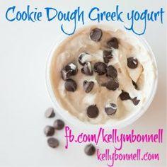 Cookie Dough Greek Yogurt | KellyBonnell
