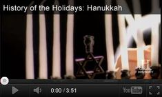 History of Hanukkah -- Videos + Activities for Grades 6-8: Learn about the story of Hanukkah. This video introduces students to the history, symbolism, and traditions of the Jewish holiday.