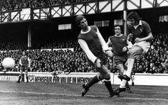 Alan Ball vs Everton.