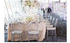 Channel wedding chairs. The perfect wedding chairs for an elegant wedding! #weddingdecor #bookmoreweddings #weddingblogger