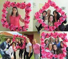 Resultado de imagem para decoração outubro rosa