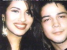 Selena Quintanilla-Perez and Chris Perez