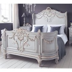 Bonaparte French Bed. #Frenchbedroomcompany #Frenchbedrooms  #Romance