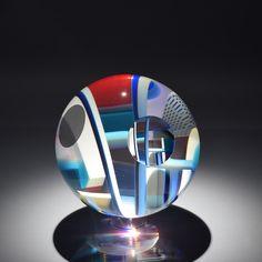 DAVID HUCHTHAUSEN   Glass Scultpure by David Huchthausen at - Schantz Galleries