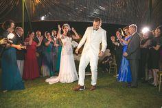 Casamento judaico: quebra do copo no fim da celebração - Foto Guilherme Rocha Fotografia