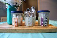s 19 ways to organize your kitchen this new years, DIY Kitchen Storage Containers Tutorial Kitchen Storage Containers, Spice Containers, Diy Kitchen Storage, Kitchen Organization, Kitchen Organizers, Storage Sets, Storage Hacks, Diy Storage, Cheap Storage