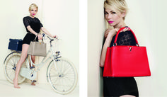 The new Louis Vuitton advertising campaign captures different facets of femininity, featuring MIchelle Williams shot by Peter Lindbergh.
