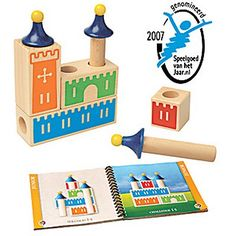 SmartGames Castle Logix is a unique, wooden puzzle game that helps preschoolers to practice logic and spatial skills. Play individually or in a group! Wood Block Game, Therapy Games, Logic Games, Stacking Blocks, Puzzle Toys, Puzzle Games, Wooden Puzzles, Wooden Blocks, Wooden Toys