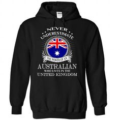 Awesome Australia - United Kingdom - #cool shirt #tee party. OBTAIN LOWEST PRICE => https://www.sunfrog.com/States/Awesome-Australia--United-Kingdom-8470-Black-Hoodie.html?68278