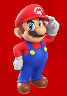 Super Mario by Elesis-Knight on DeviantArt Super Mario Bros, Lego Super Mario, Mundo Super Mario, Super Mario Games, Super Mario Birthday, Super Mario World, Super Mario Brothers, Super Smash Bros, Super Nintendo