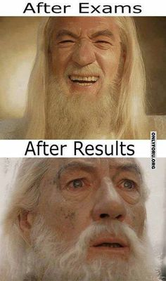 After exams and results