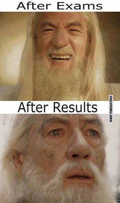 Accurate! Finals week!