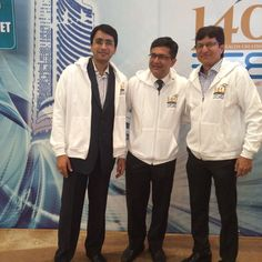 #ChoiceBroking -Mr. Ajay Kejriwal and Mr. Mahavir Toshniwal at BSE 140 years Celebration with Ashishji Chavan,MD,BSE.