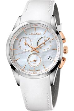 """""""Watch Trends""""  Elegant and versatile, white is a perfect match for watches and accessories of the same color, for its purity that feels like summer and brings a feeling of freshness."""