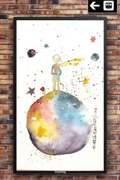 new The LITTLE PRINCE Art Collectibles . Children gift by EmelArt