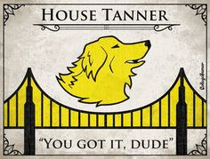Game of Thrones House Sigils for Other TV Families - House Tanner