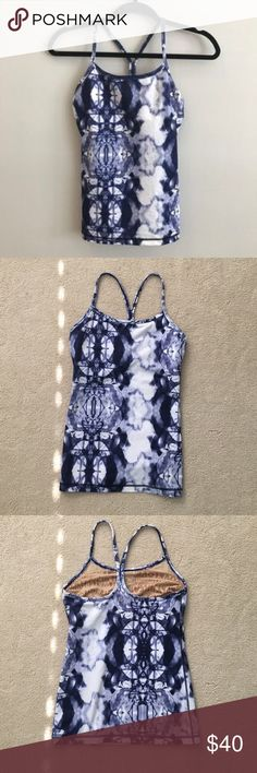 Lululemon Tye Dye Tank In PERFECT condition!!! No tears or stains. Like new. Make offers! lululemon athletica Tops