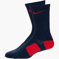From collections with superstar athletes like Kevin Durant and LeBron James to classic options like Shox and Roshe, Nike has what you need to stay on top of your game. Athletic Outfits, Athletic Clothes, Adidas Socks, Lebron James, Crew Socks, Nike Men, Basketball, Navy, Bulldogs