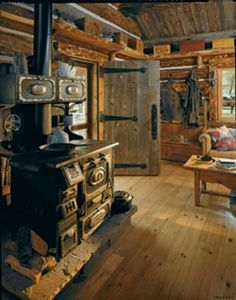Old Log Cabin Interiors