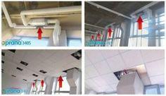 Montarea si instalarea - Sisteme de ventilatie PRANA