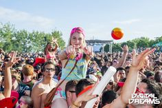 Awesome crowd at ! Summer Festivals, Edm, Crowd, Toronto, Cities, Dreams, Digital, Awesome, City