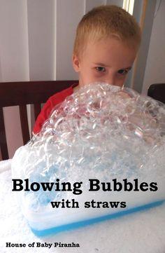 Bubble blowing :)