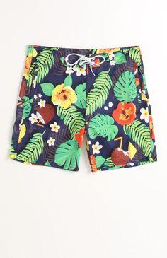 WeSC Tropical Boardshorts #WeSC #PacSun