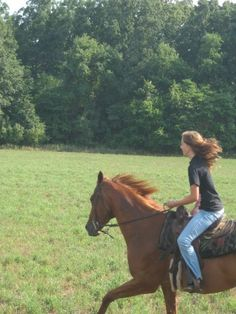 Horses give us the wings we lack :) at least my horse does <3