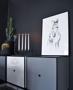 The Foal print // Photo: Black Interiors, Home Decor, Decoration Home, Room Decor, Home Interior Design, Home Decoration, Interior Design