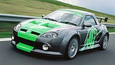 XPowered MGF launched at Le Mans the MG XPower demonstrated that there was a fighting spirit at MG Rover; Mg Cars, Race Cars, Rover Metro, Alfa Giulia, Morris, Cars Motorcycles, Cool Cars, Transportation, Classic Cars