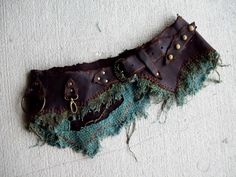 "Roughhewn Utility Belt 33-38"" by ArchaicLeatherworks, $200.00  burning man tribal nomad wasteland weekend apocalyptic"