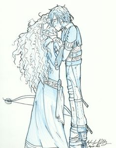 Mericcup Starbucks AU By Mo0on3 On DeviantArt The Princess And Dragon Rider