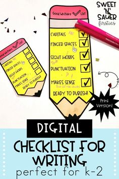 Have your kindergarten, 1st grade, or 2nd grade students work on building their independence while learning how to self-assess with my Digital Writing Checklists! These checklists provide students with a visual prompt while working through the writing process. These are also a great tool for peer editing! My checklists are a digital resource, so they can be used with Google Classroom.