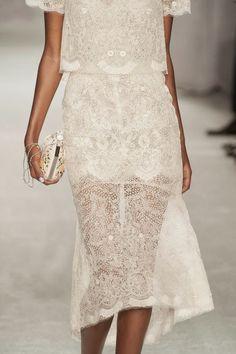 delicate beaded dress