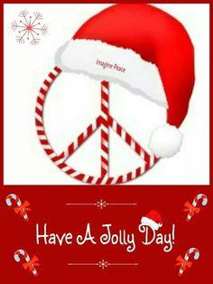 ☮ American Hippie Art ☮  Holiday .. Christmas