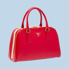 BL0809 Hot Sell Prada Saffiano Leather Tote Bag BL0809 Red