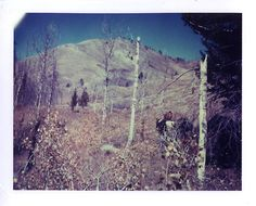 """""""Cowboy Bill"""" - Idaho  Before there was Instagram, there was slide film and Polaroid."""