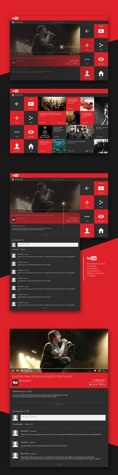 YouTube Metro Concept Design on Behance